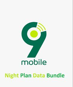 Latest 9Mobile Night Plan Data (formerly Etisalat Night Plan